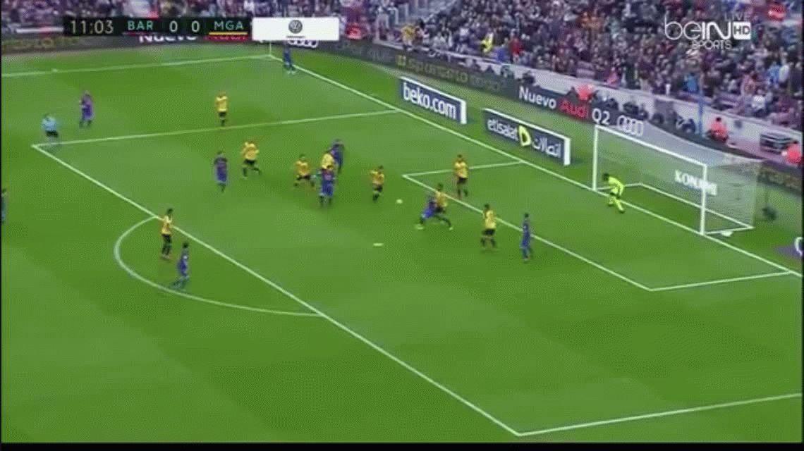 Barcelona no pudo con el Málaga y sólo empató en el Camp Nou