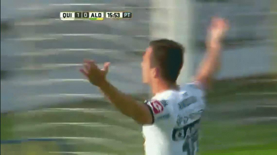 Quilmes le ganó a Aldosivi en una final por el descenso