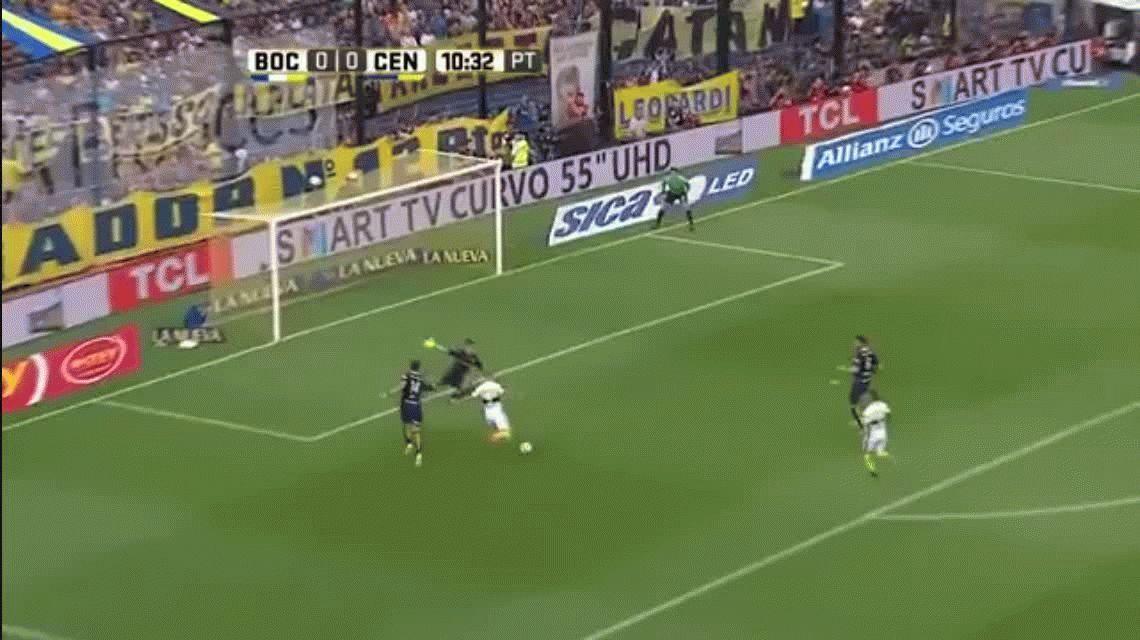 Boca ganaba, pero Central lo igualó con gol de Teo Gutiérrez