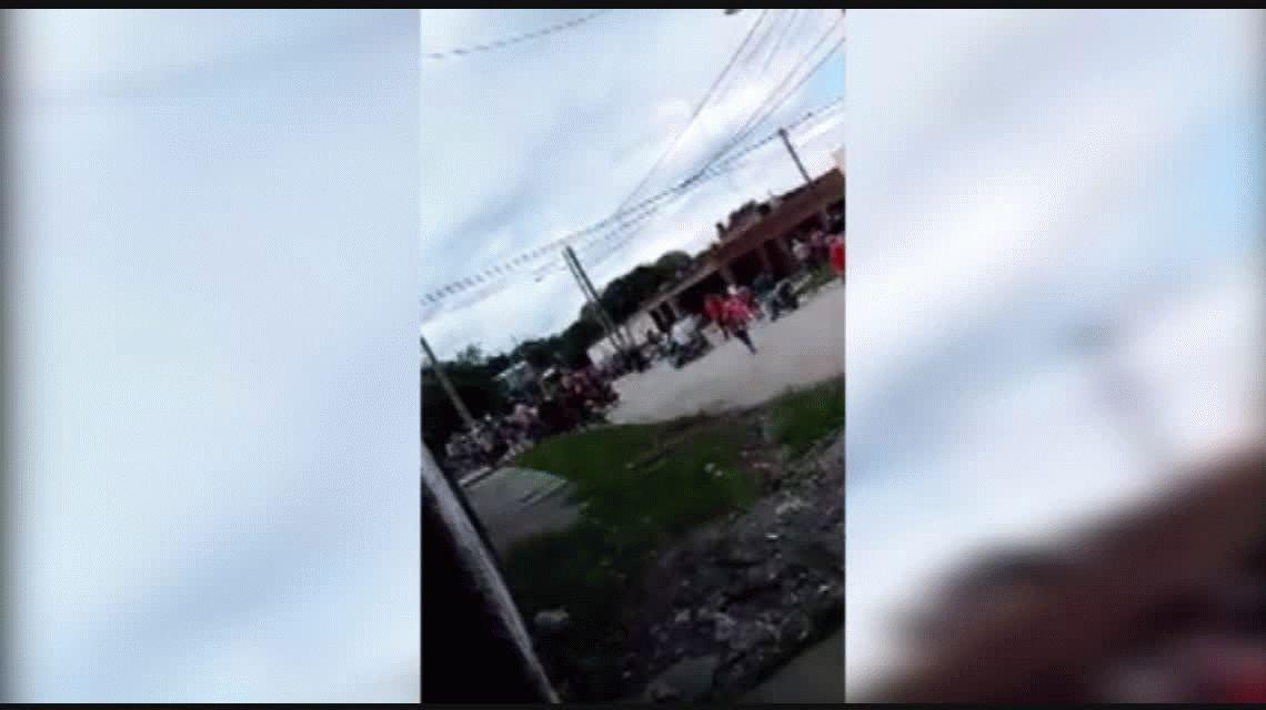 A los tiros en plena calle: la polémica despedida a un ladrón en Tucumán
