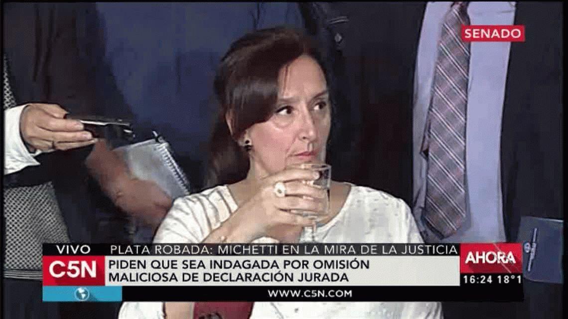 Conferencia de prensa de Gabriela Michetti