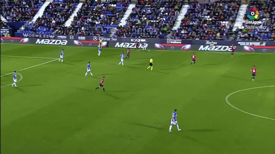 ¡Qué dolor! Espeluznante lesión de Diego Rico en la Liga Española
