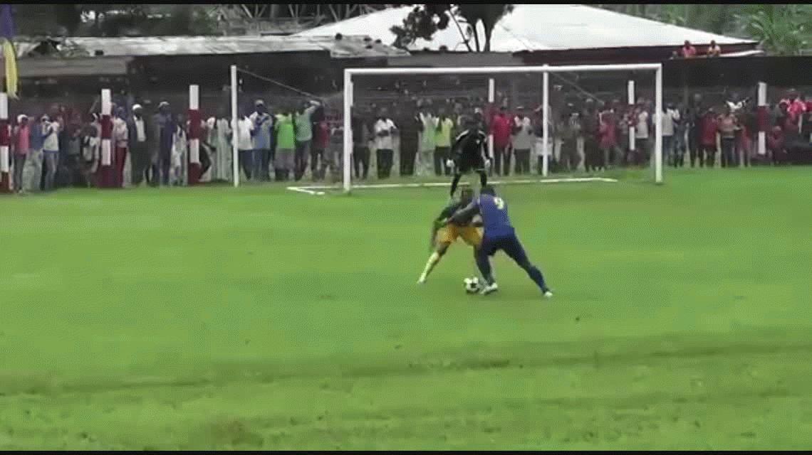 Arouna Dang Bissene es uno de los mejores futbolistas de África