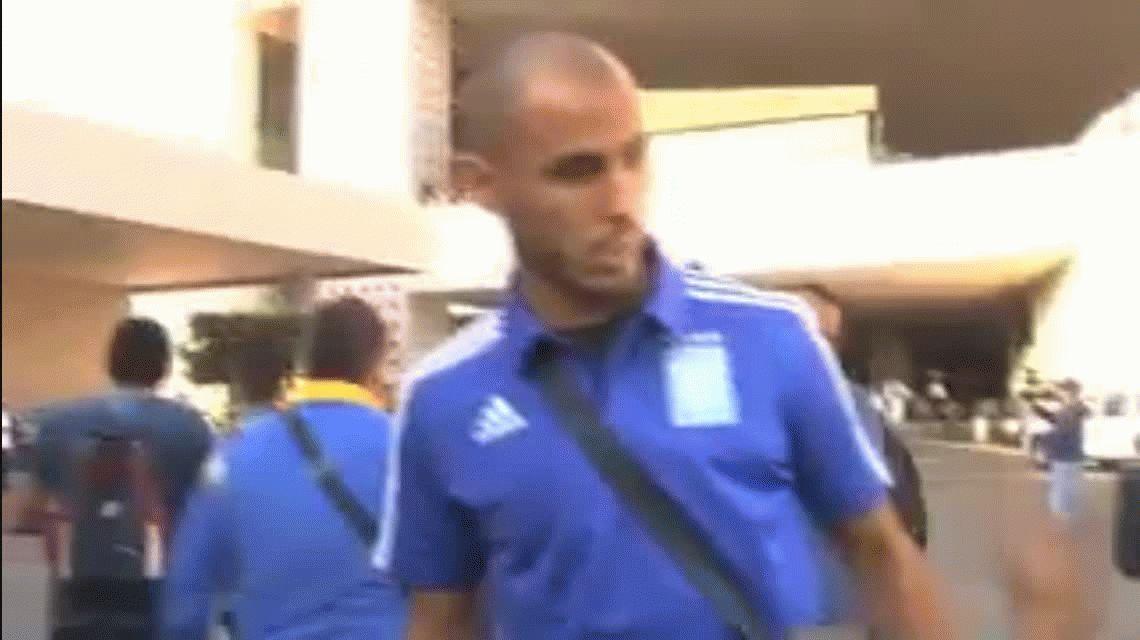 VIDEO: Guido Pizarro invitó a pelear a un camarógrafo