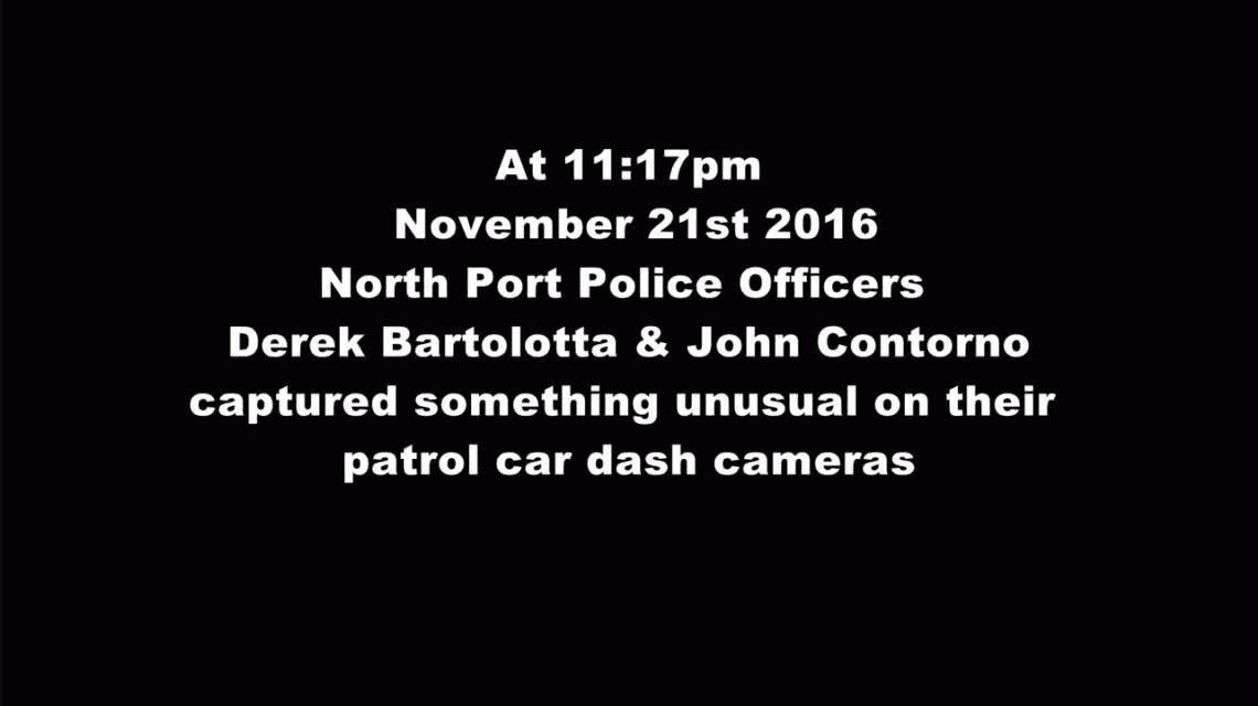 Un meteoro cruzó el cielo de  North Port en Florida y la policía lo filmó