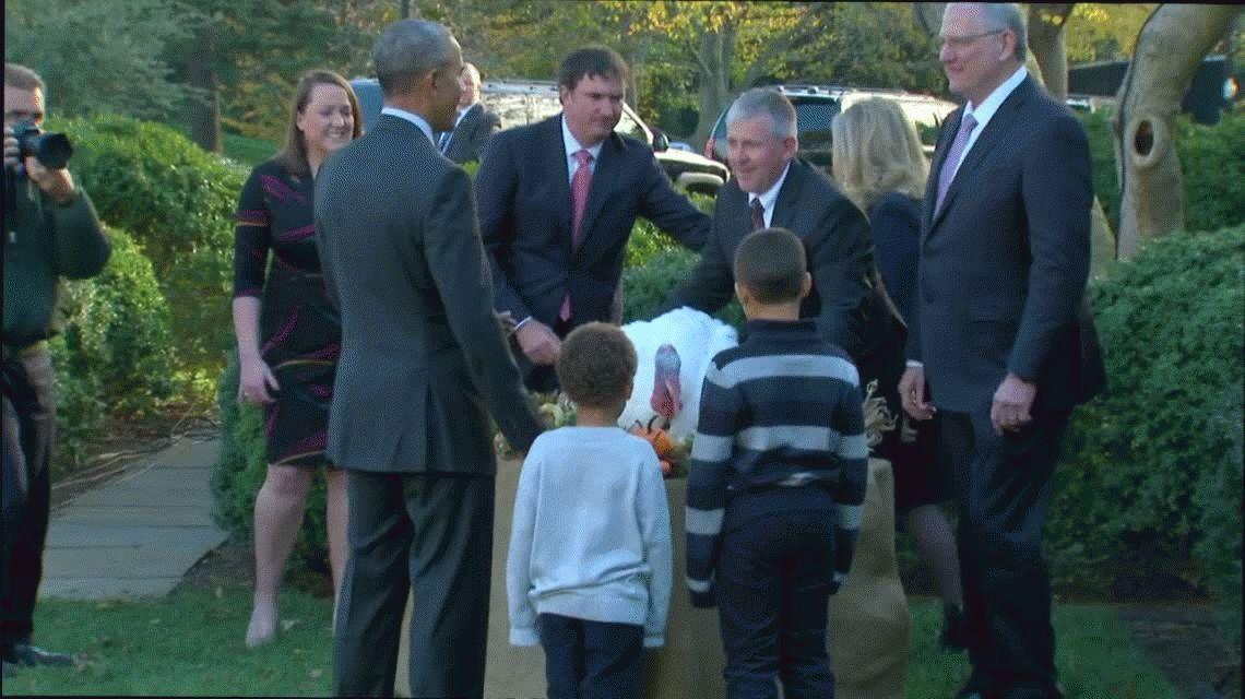 El presidente Obama encabezó el acto en la Casa Blanca