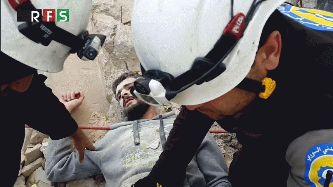 Los rescatistas sirios tuvieron que pedir disculpas