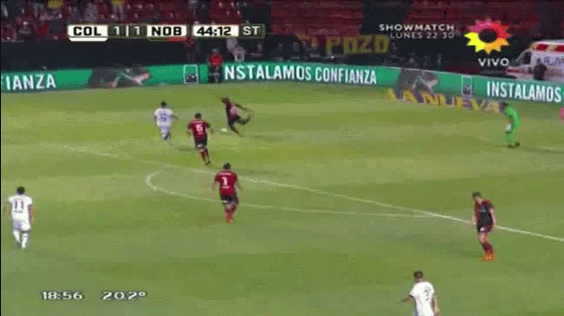 Newells le ganó a Colón con un gol de Maxi Rodríguez sobre el final