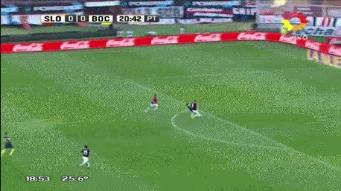 El partido de Darío Benedetto: hizo un golazo y se fue lesionado