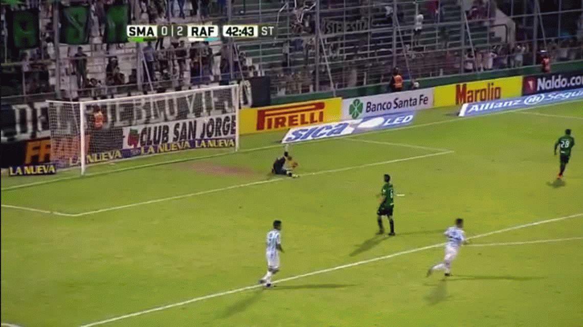 Atlético Rafaela goleó a San Martín de San Juan en el cierre de la fecha