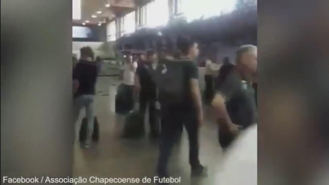 El último video del plantel de Chapecoense antes del accidente aéreo