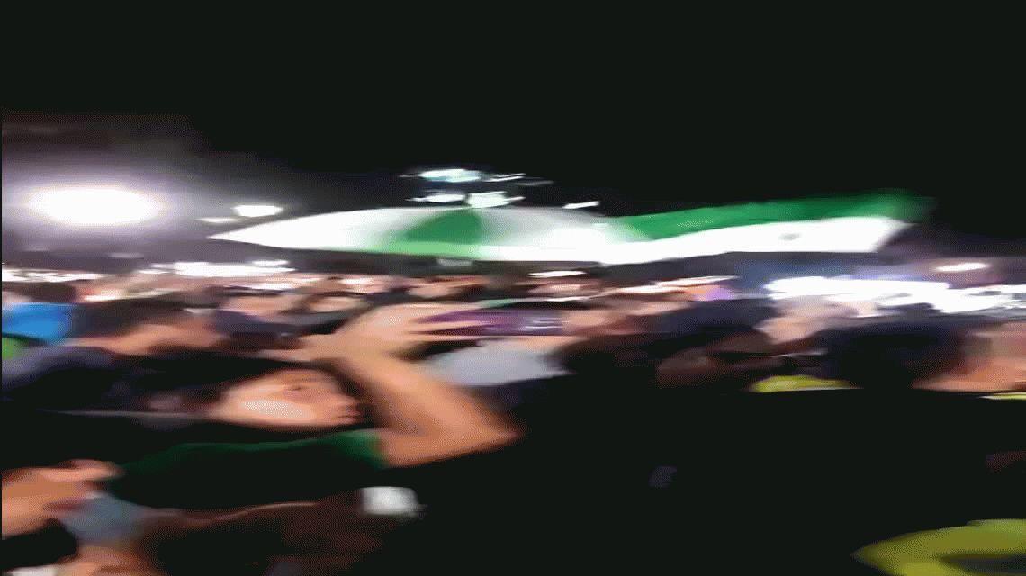 El emocionante canto que le dedicaron los hinchas de Atlético Nacional al Chapecoense