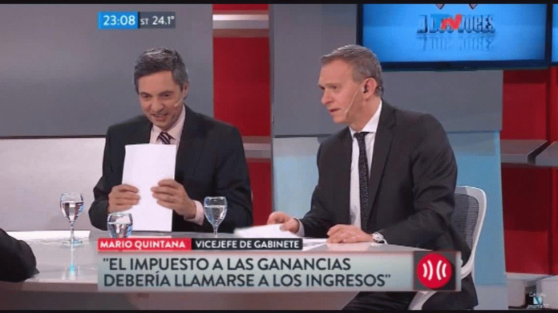 El chiste de mal gusto de Quintana: Ojalá le pongan nafta al avión