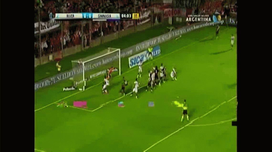River hizo un gol pero lo anularon: ¿hubo offside de Driussi?