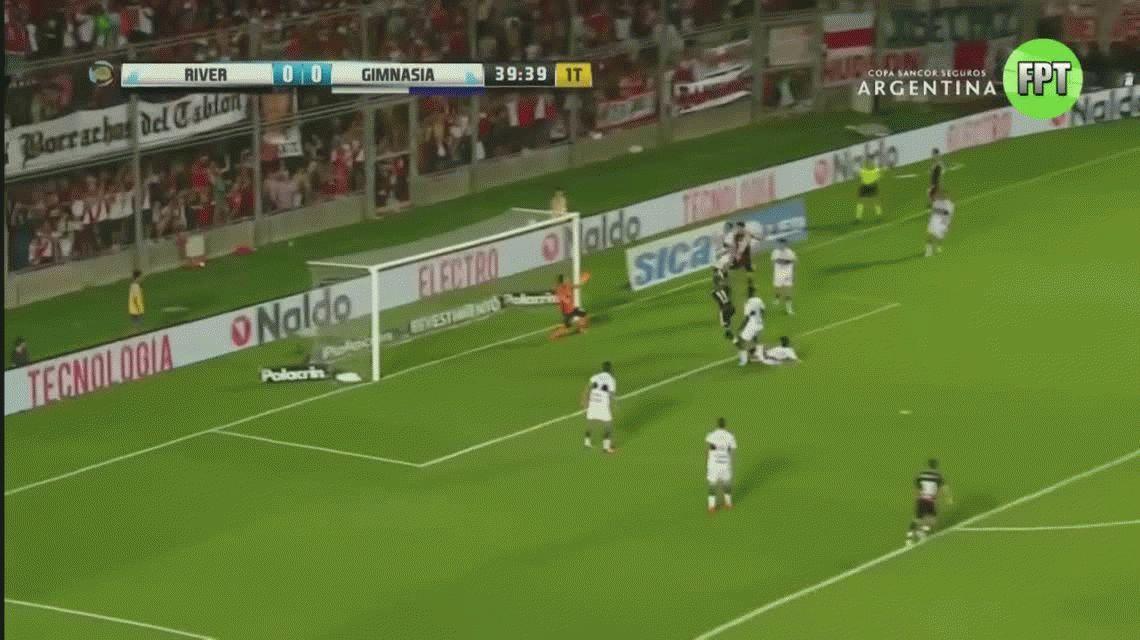 Con goles de Driussi y Alario, River le ganó a Gimnasia y es finalista