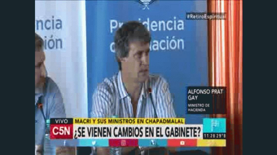 Prat Gay se sumó a la autoevaluación de Macri: Estamos a 2 puntos del 10