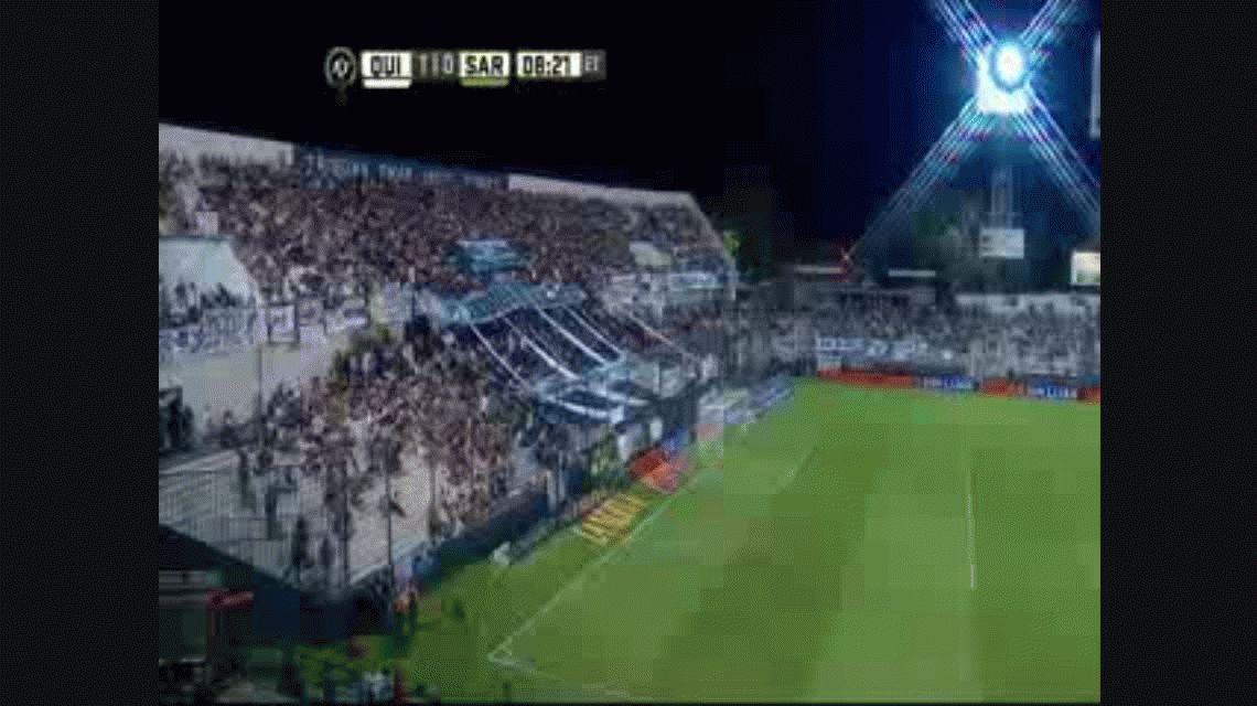 Sarmiento se lo dio vuelta a Quilmes y sumó tres puntos vitales de visitante