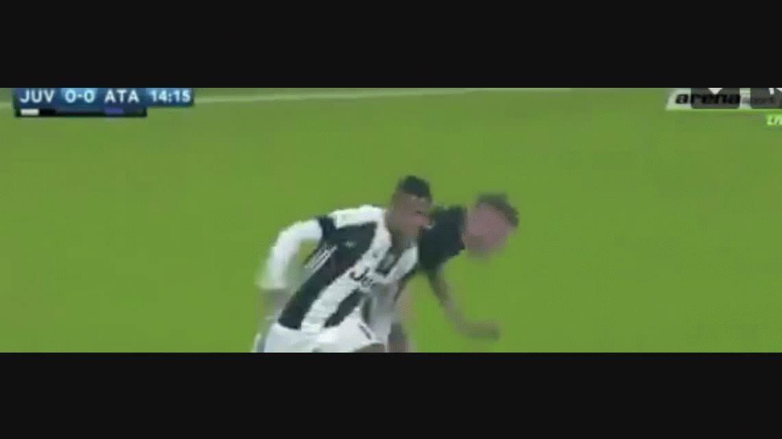 Juventus derrotó a Atalanta en Turín y continúa como líder de la liga italiana