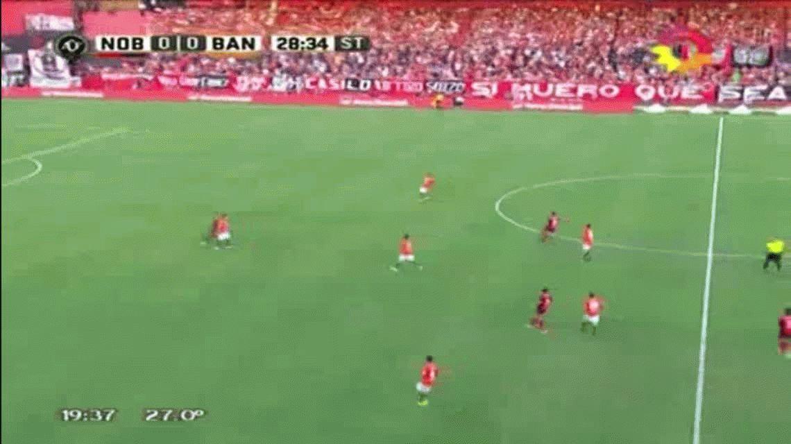 Con dos goles de Bertolo, Banfield venció a Newell´s y le impidió subir a la punta
