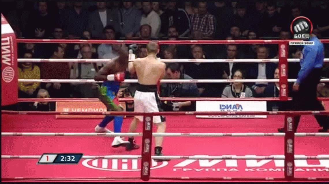 Tenía 25 peleas invicto y era el campeón del mundo: lo noquearon en 39 segundos