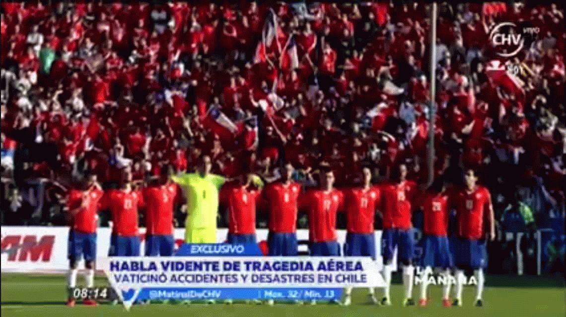 El vidente que predijo la tragedia del Chapecoense reveló que un jugador de Chile morirá