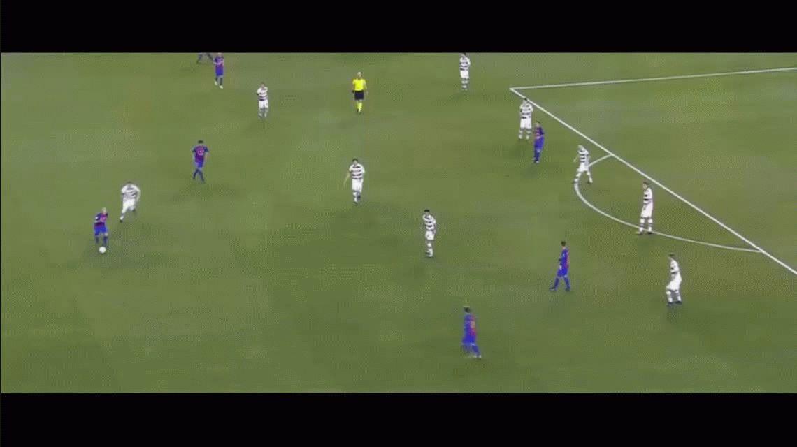 Con gol de Messi y un Turan imparable, Barcelona goleó a Möenchengladbach