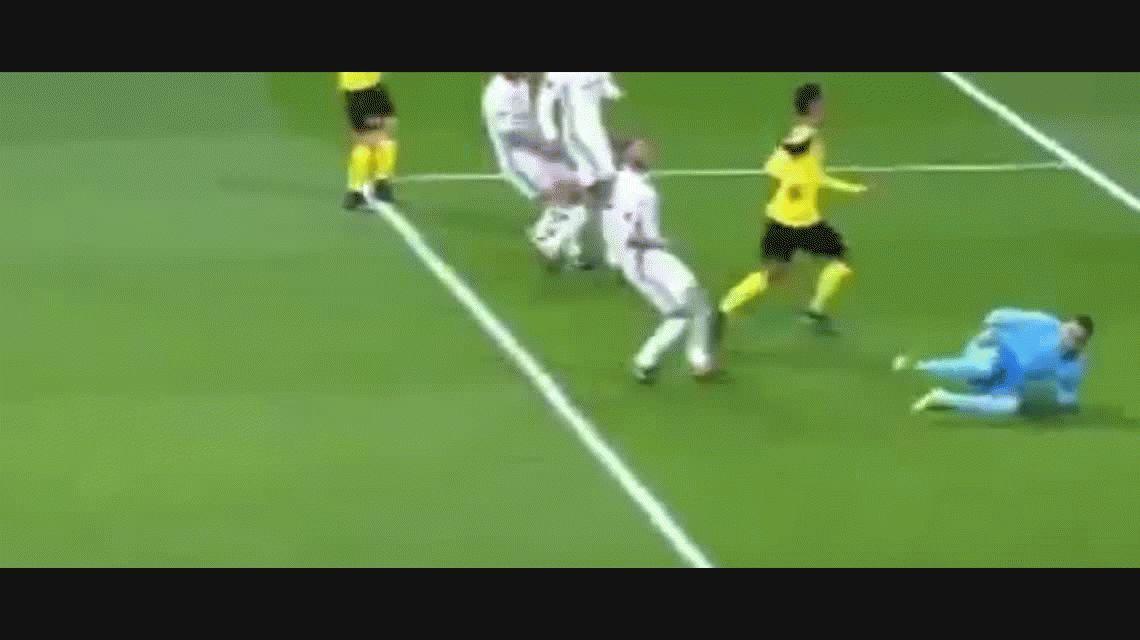 Real Madrid se durmió, el Dortmund empató y quedó segundo en el grupo F
