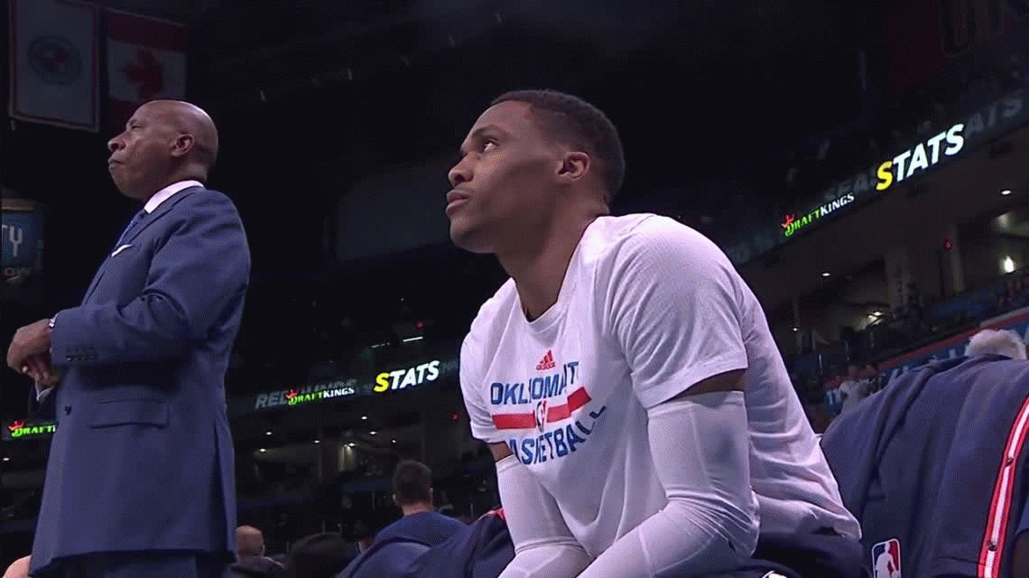 NBA: Russell Westbrook igualó un record de Michael Jordan
