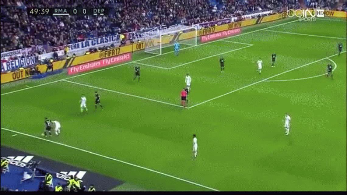 Con el heroico Sergio Ramos, Real Madrid superó agónicamente al Deportivo