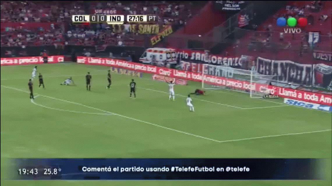 Independiente superó a Colón y sigue de racha