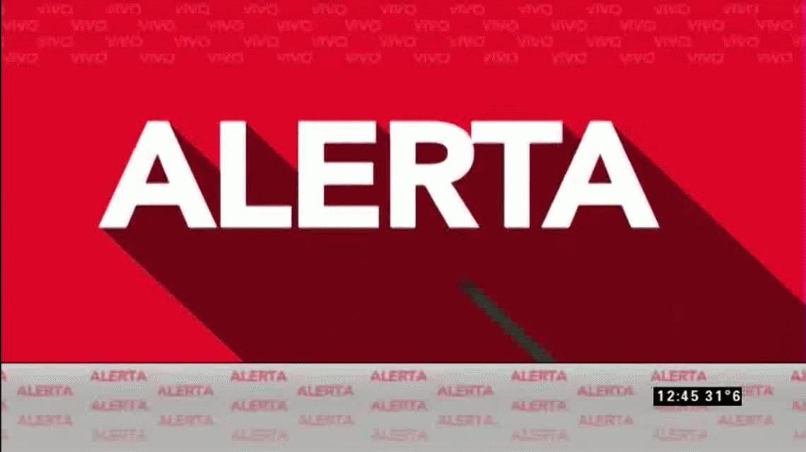 VIDEO: Un micro se prendió fuego en la General Paz y el tránsito fue un caos