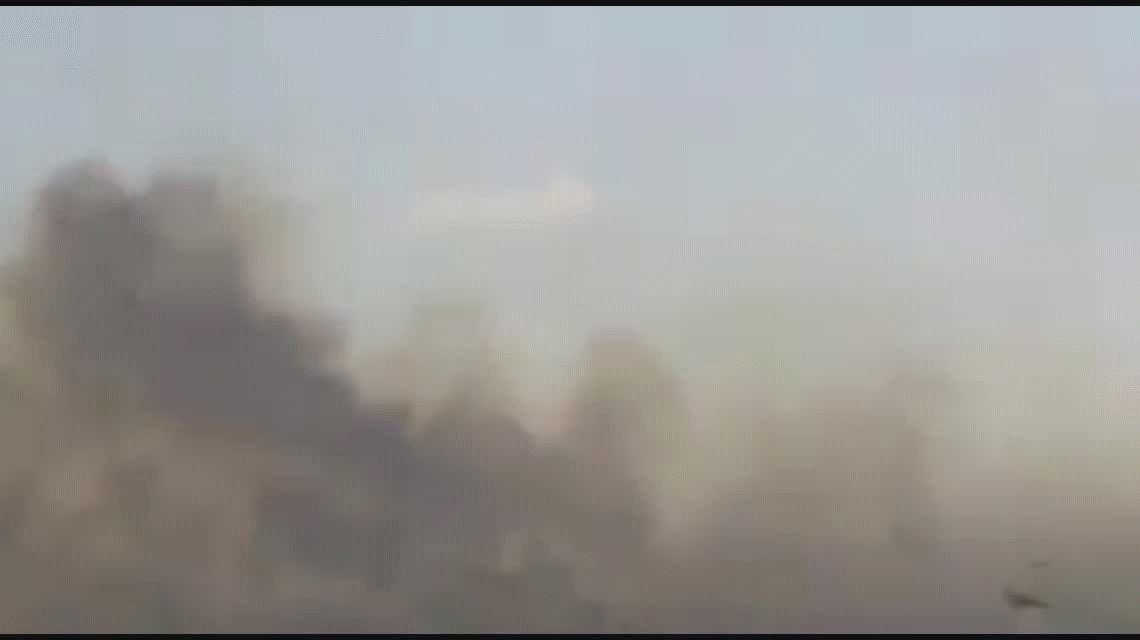 Un voraz incendio afectó a varios campos en un pueblo cerca de Bahía Blanca
