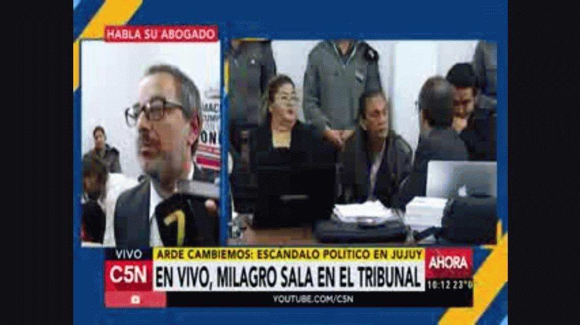 Sala está acusada de ser la instigadora de un escrache a Morales