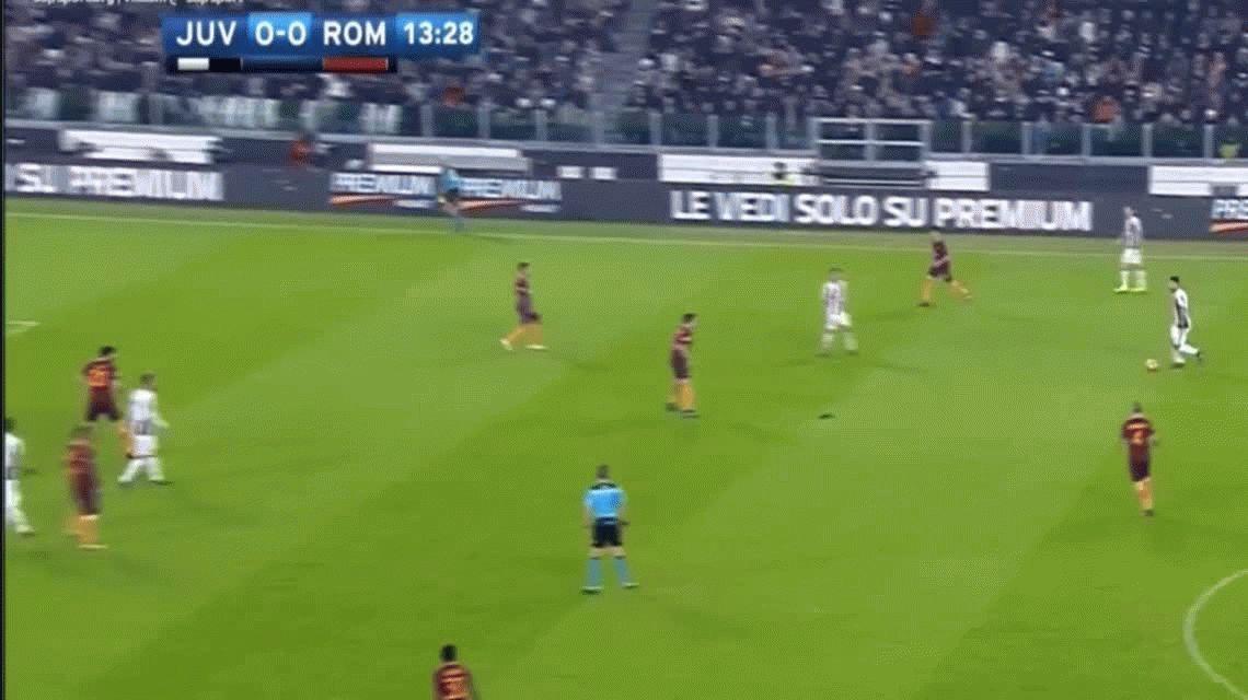 Con un golazo de Higuaín, Juventus derrotó a la Roma