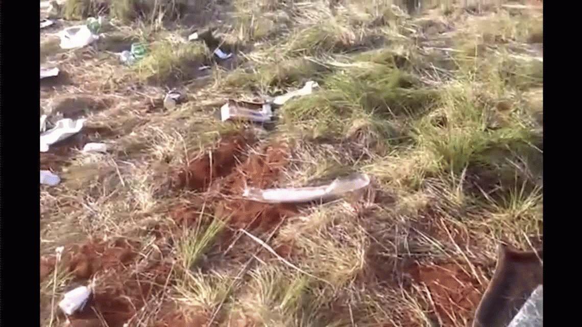 VIDEO: Así quedó el lugar donde ocurrió la tragedia con egresados en Brasil