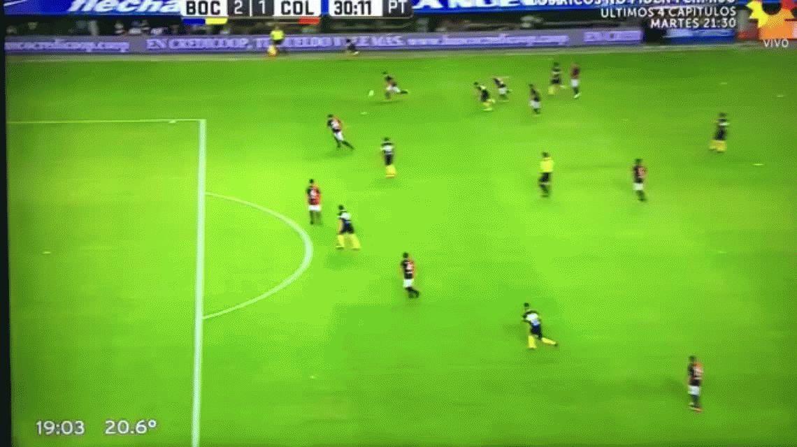 En su posible despedida, Tevez convirtió y Boca goleó a Colón