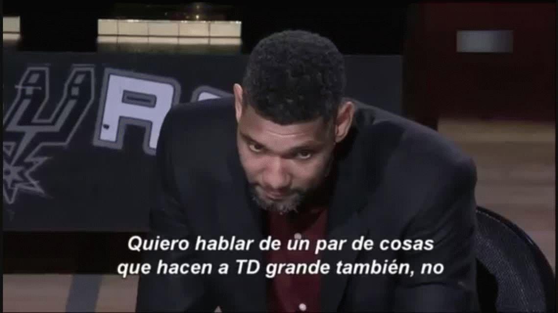 La emotiva despedida de Tim Duncan: ¿qué dijo Manu Ginóbili?