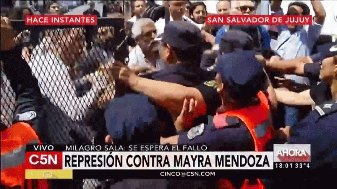El juicio a Milagro Sala pasó a cuarto intermedio hasta el miércoles próximo