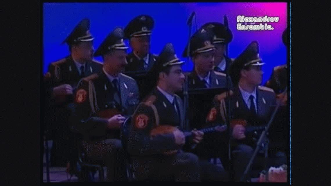 El coro del Ejército Rojo