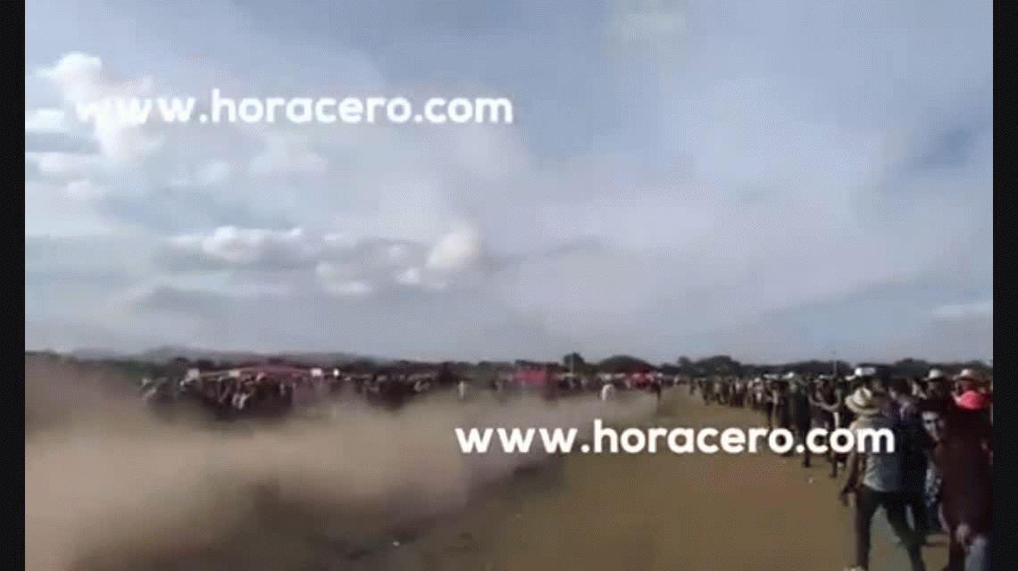 VIDEO: un caballo aplastó y mató a su dueño en plena carrera