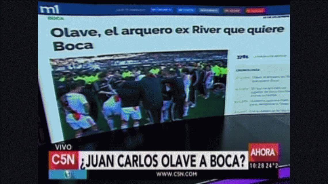 ¿Qué dijo Juan Carlos Olave de su posible pase a Boca?