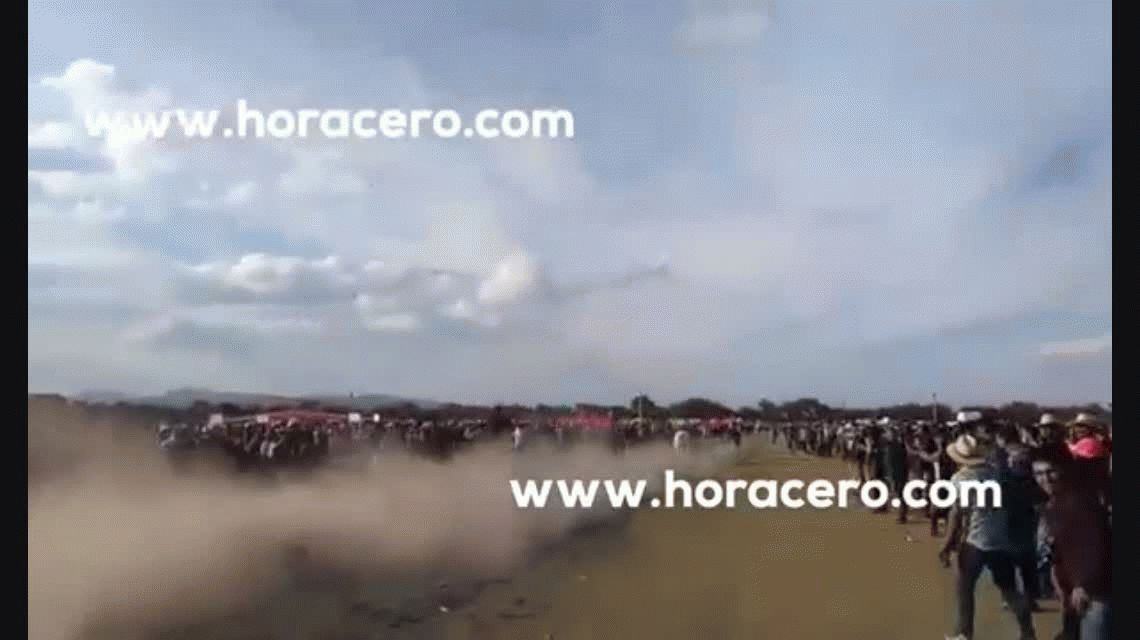La fiesta de los 15 años de Rubí, con 10 mil invitados, terminó en tragedia