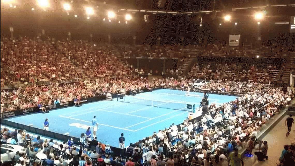 Del Potro celebró la Copa Davis ganándole a Ferrer