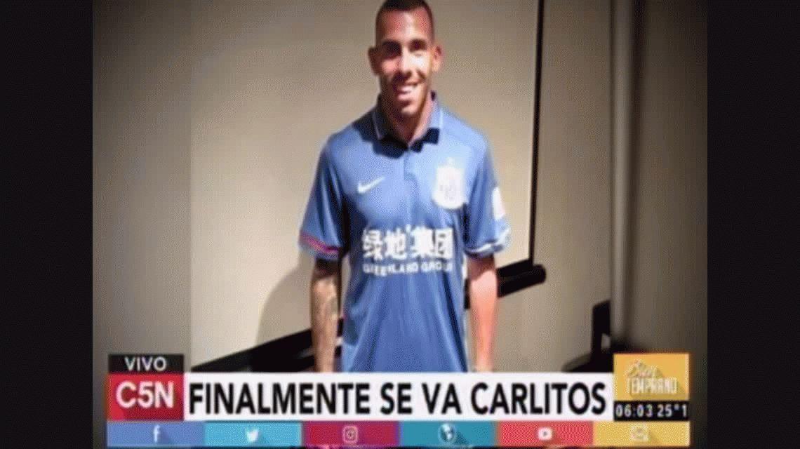 Tevez a China: será el mejor pago del planeta y relegó a Neymar, CR7 y Messi