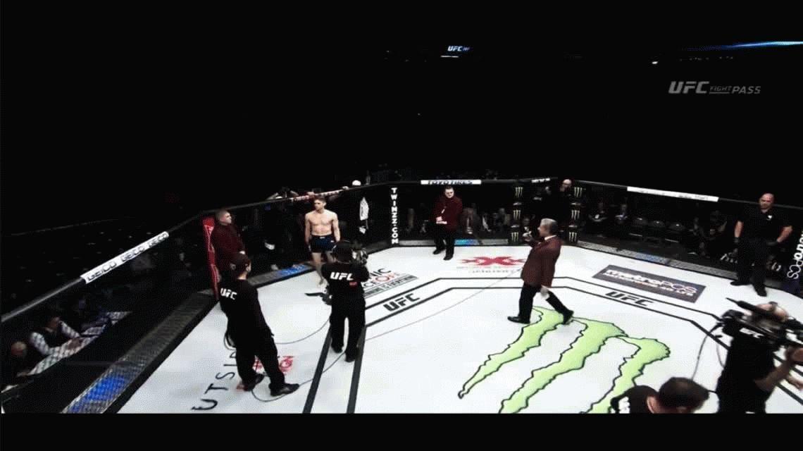 VIDEO: El espectacular nocaut en la UFC para despedir el 2016