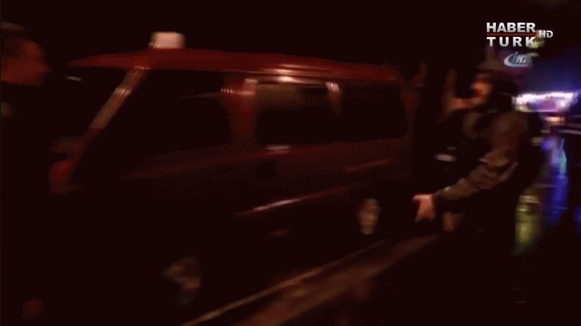 Videos con el momento del atentado terrorista a la disco Reina de Estambul