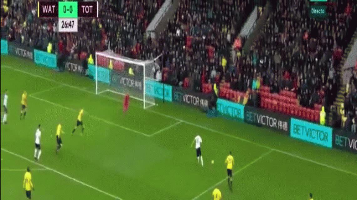 Este fue el primer gol de 2017 en la Premier League