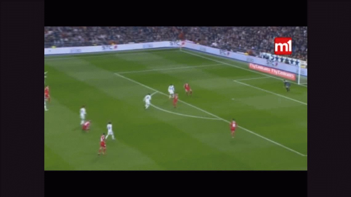Con un doblete de James,  Real Madrid goleó al Sevilla por Copa del Rey