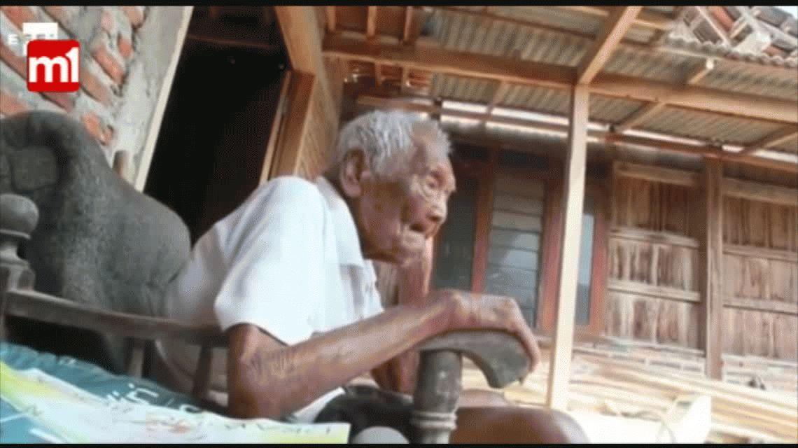 El único deseo del hombre más viejo del mundo: Quiero morir