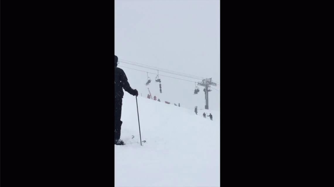 El esquiador se recupera en el hospital